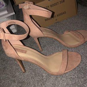 WIDE FIT Ankle Strap Heel